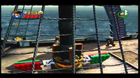 Lego Pirates of the Carribean - Part 2 of the Kraken