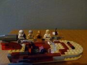 Luke's Landspeeder set