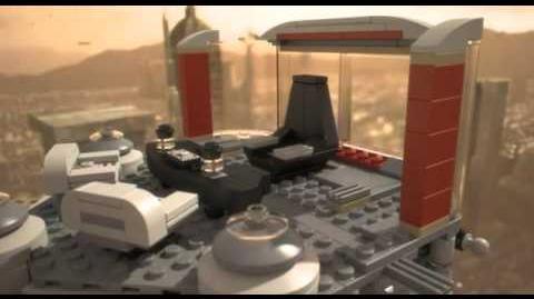 Lego 9526 Palpatine's Arrest - Lego 3D Review