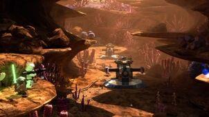 400px-Lego Star Wars 3 ambush hover tank canyon