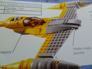 Naboo Starfighter in book