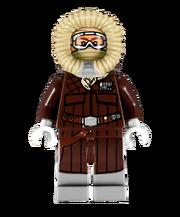 Lego Han Solo on Hoth bonus gift
