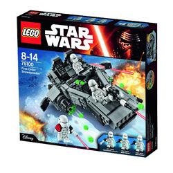 First Order Snowspeeder boxed
