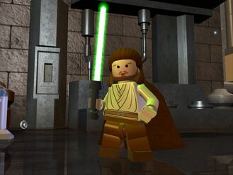 Lego quigon (animated)