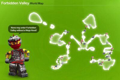 Forbidden Valley Icon Map