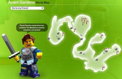 Avant Garden Icon Map