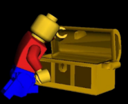 Minifig chest