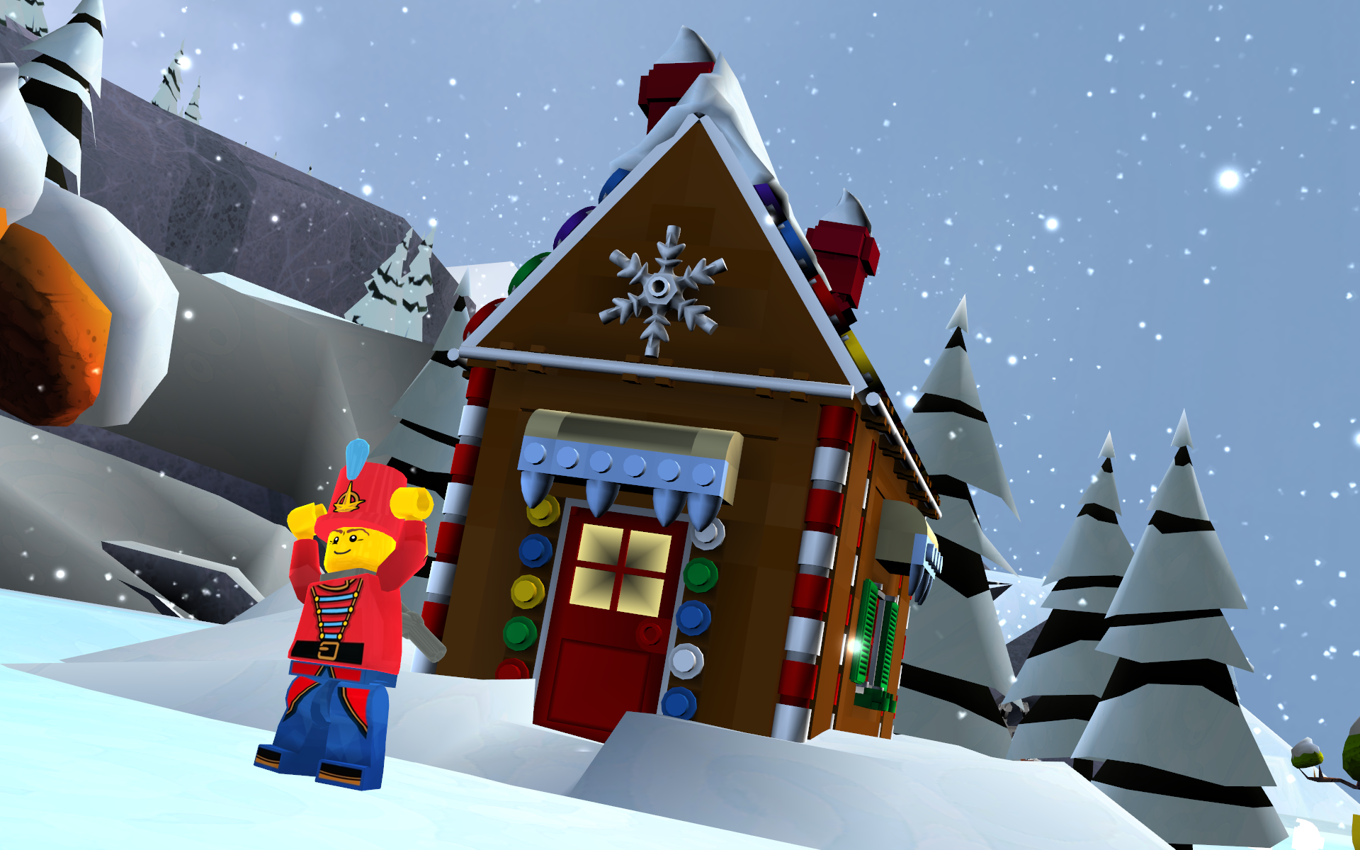 Lego Full House Image Frostburgh Gingerbread Housepng Lego Universe Wiki