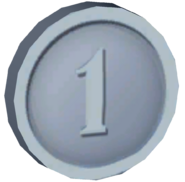 Pre-Alpha Silver (Cave) Coin ''1''