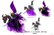 Samurai stromling horse cont pres