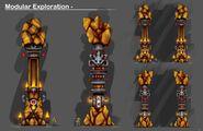 NinjagoDungeon ModularPillar Exploration
