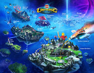 LEGO Universe Map Club 1 1300