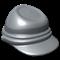 Grey Kepi Hat