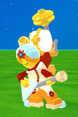 Friendly Felix in-game 1