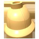 Reinforced pith helmet