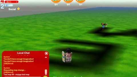 LEGO Universe DEV Walkthrough - Unreleased Version - Part 26 - Misc Ninjago Testing Area