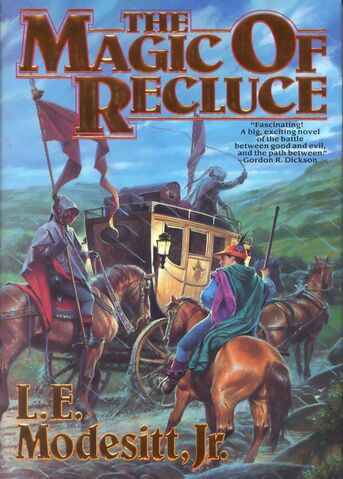 File:The Magic of Recluce (cover Tor 1992).JPG
