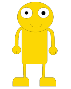 GOLD YELLOW GUY