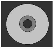 CD CASE WITH CD TRANS