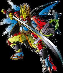 Musyamon Jintrix Bandai