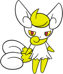 678 Meowstic Female DW Shiny