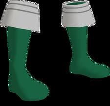 Gokai Green Boots F