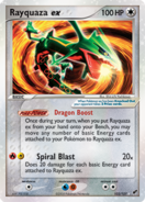 Rayquaza ex D102