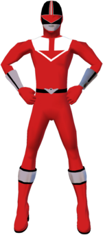 Time Force Red Outfit