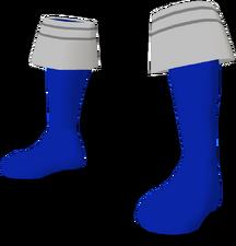 Blue Gokai Boots F