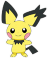 172 Pichu Spiky-Ear DP5
