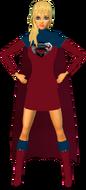 Supergirl RedBlu Skirt 3