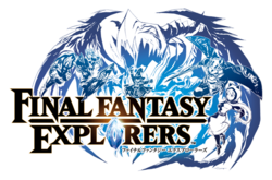 Final Fantasy Explorers Title