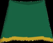 Gokai Green Skirt