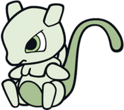 150 Mewtwo DW Doll Shiny