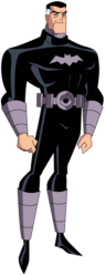 Batman No Mask DCAU