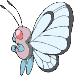 012 Butterfree OS2 Pink