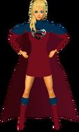 Supergirl RedBlu Skirt 6