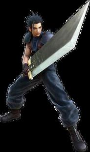 Zack Fair CG Model Crisis Core 2