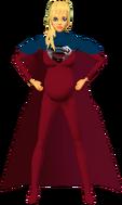 Supergirl RedBlu Pregosuit 4