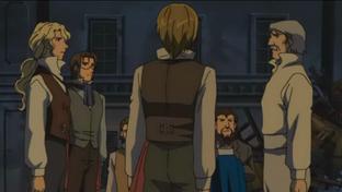 Valjean Volunteers at Barricade