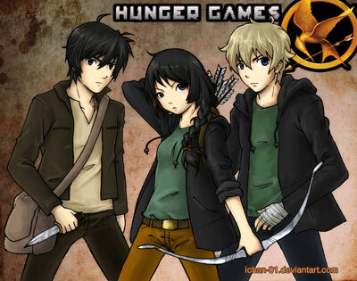 The hunger games by ichan 01