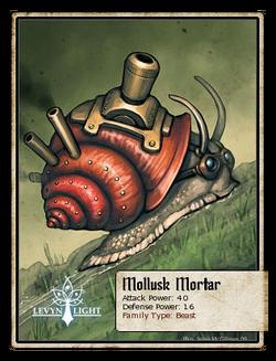 Mollusk Mortar