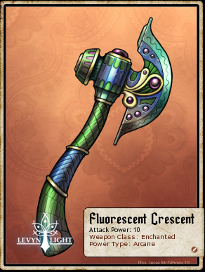 Fluorescent Crescent (Weapon)