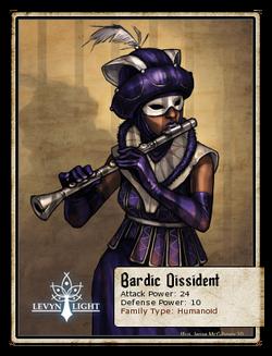 Bardic Dissident