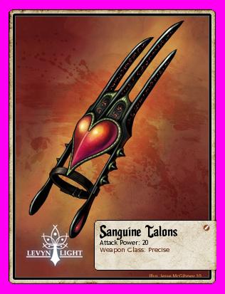Sanguine Talons