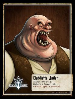 Oubliette Jailer