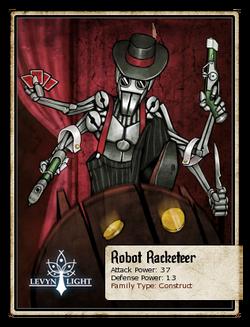 Robot Racketeer