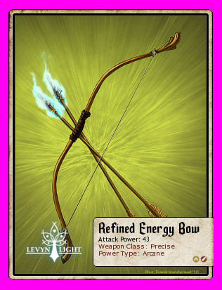 Refined Energy Bow