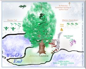 Tree scaled to Surebleak