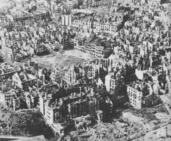 File:Destroyed Warsaw capital of Poland January 1945.jpg